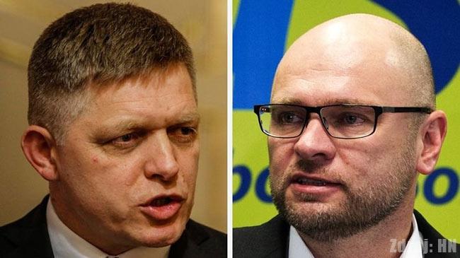 Prvá liga - Robert Fico a Richard Sulík