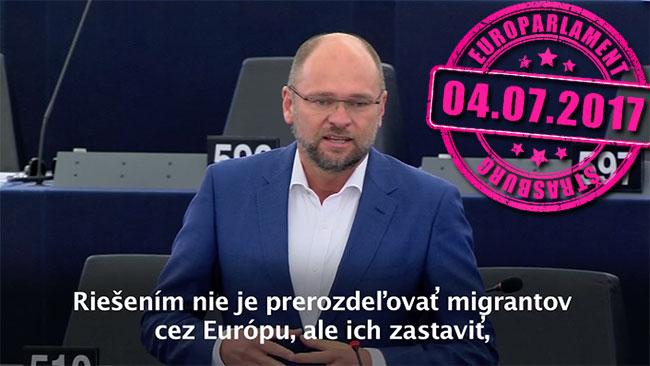 Migranti a prevádzači migrantov - Richard Sulík
