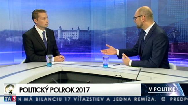 Stabilná vláda - Richard Sulík vTA3