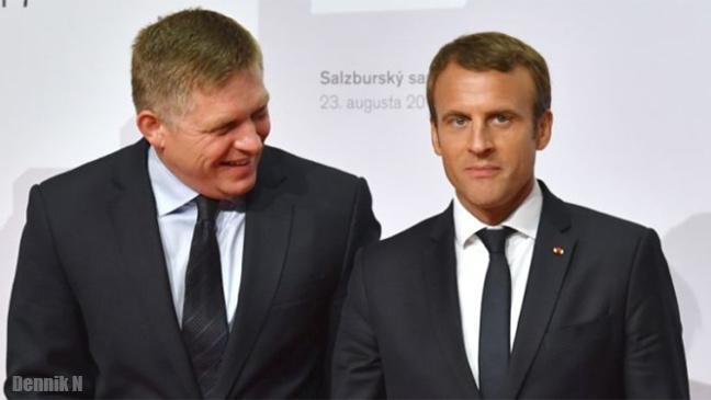 Čo nám prinesie jadro - Fico a Macron