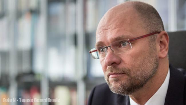 Líder SaS Richard Sulík