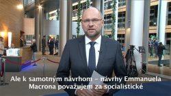 Socialistické návrhy Emmanuela Macrona | Videoblog