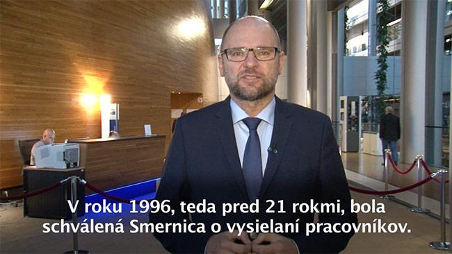 Smernica ovysielaní pracovníkov EÚ - Richard Sulík