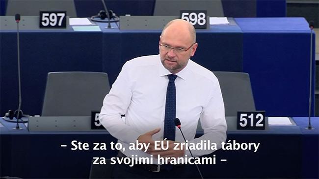 Utečenecké centrá mimo EÚ - Richard Sulík