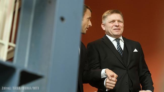 Robert fico a Andrej Danko - slovenské záujmy
