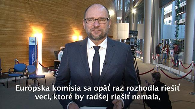 Európska komisia, fosfáty a kebab - Richard Sulík