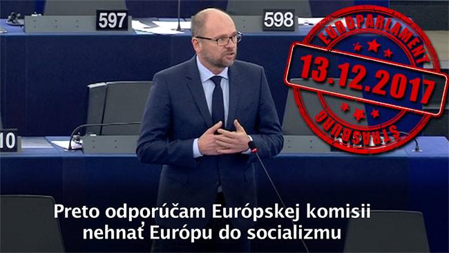 Európsky pilier sociálnych práv - Richard Sulík, Europarlament