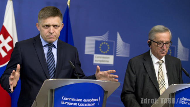 Migranti EÚ - Robert Fico