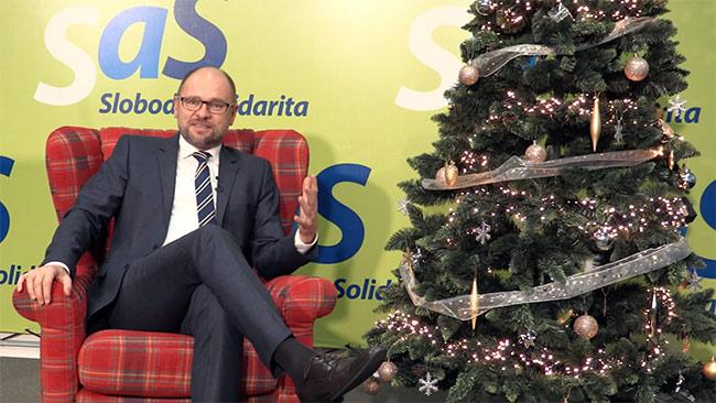Pokojné Vianoce - Richard Sulík