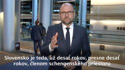 Schengenský priestor | 10 rokov Slovenska v Schengene