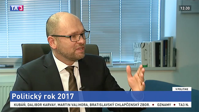 Strana SaS ajej politický rok 2017 - Richard Sulík