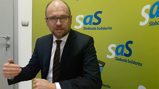 Vízia strany SaS na rok 2018 - Richard Sulík