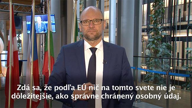 Ochrana osobných údajov EÚ - Richard Sulík