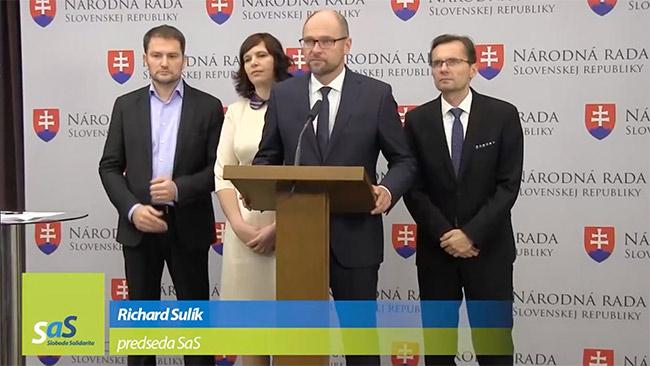 Komunálne voľby 2018 SaS a OĽaNO - Richard Sulík