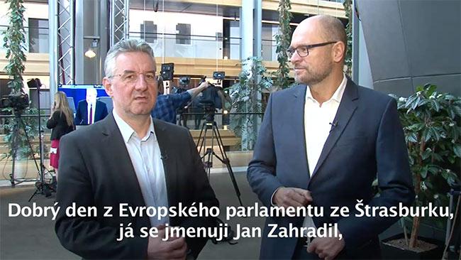 Sloboda slova v Európskom parlamente - Zahradil a Sulík