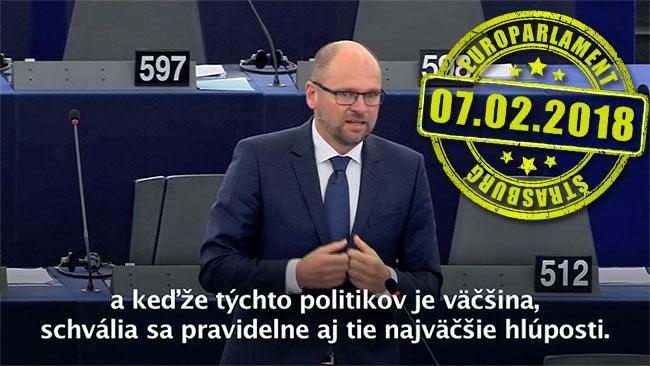 Zloženie Európskeho parlamentu po Brexite - Richard Sulík