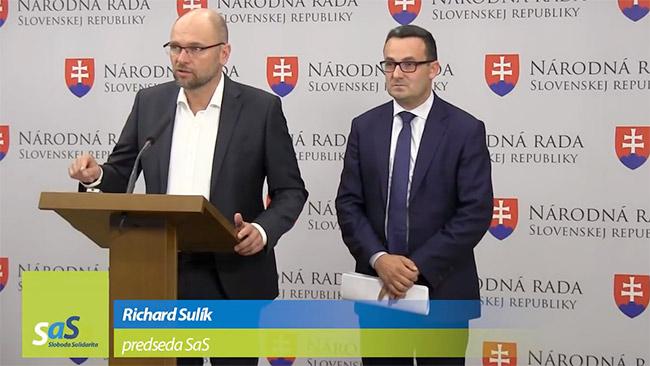 Čerpanie eurofondov na Slovensku - Richard Sulík