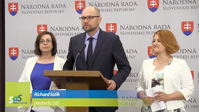 Nezaradená poslankyňa NR SR Zuzana Zimenová - Richard Sulík