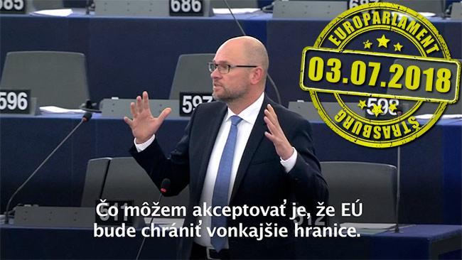 Ochrana hraníc EÚ - Richard Sulík