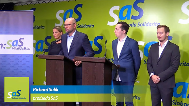 Mladí SaSkári - Tomáš Popovič, Michael Hanzalík, Richard Sulík