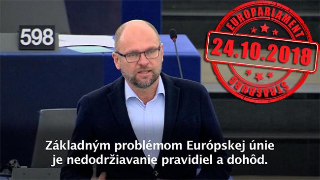 Nedodržiavanie pravidiel vEÚ - Richard Sulík