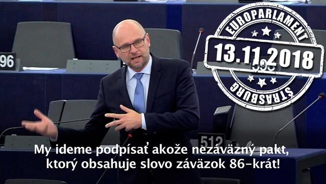Migračný pakt OSN - Richard Sulík