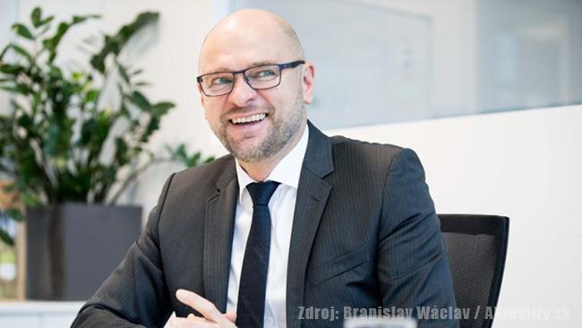 Predseda najsilnejšej opozičnej strany SaS Richard Sulík