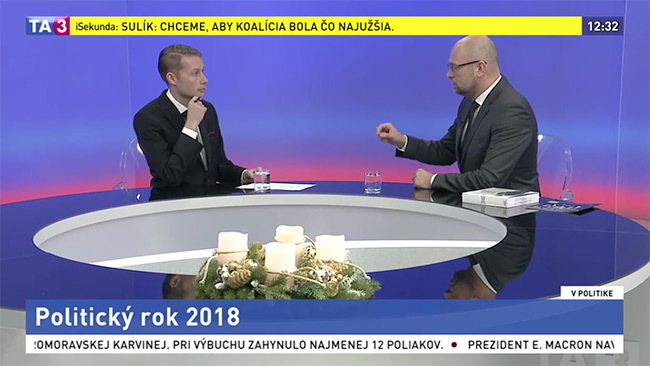 Strana Sloboda aSolidarita - Richard Sulík v TA3