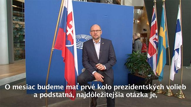 Maroš Šefčovič kandidát na prezidenta