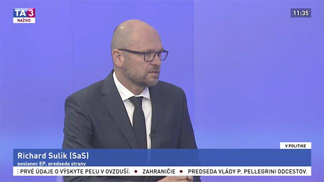 Spraviť život na Slovensku lepším - Richard Sulík