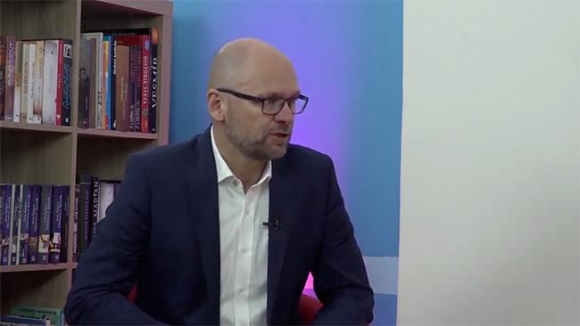 Richard Sulík v regionálnej televízii TV7 Prešov