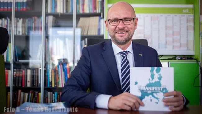 Prezidentské voľby - Richard Sulík