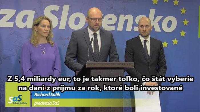 Elektráreň Mochovce - Richard Sulík a Karol Galek