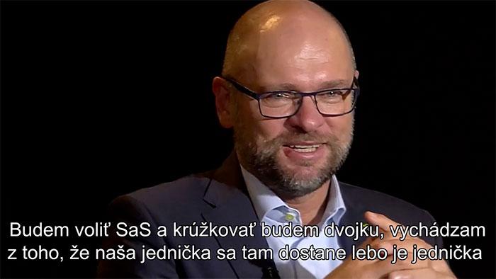 Richard Sulík - koho budem krúžkovať v eurovoľbách 2019