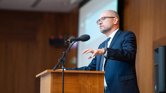 Richard Sulík na prestížnej konferencii Vizionári 2018